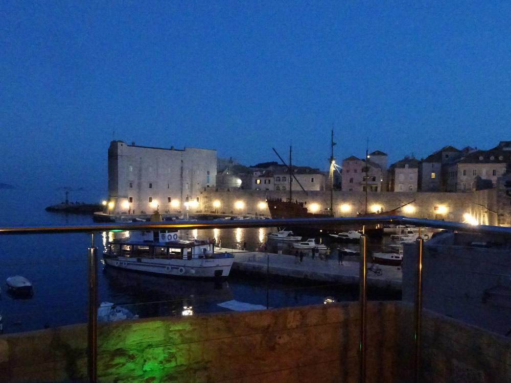 St John's fort at night