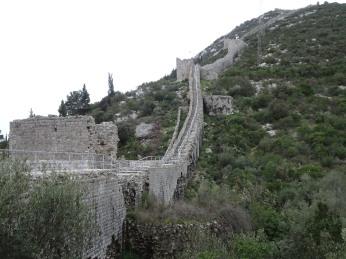 Wall from Mali Ston