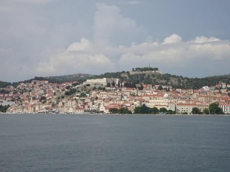 Approach to Šibenik