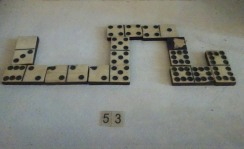 Old dominoes go up to 8?