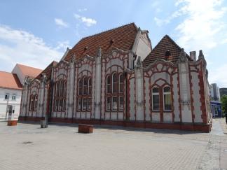 Čakovec town centre