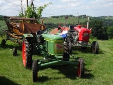 Shiny tractors
