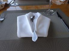 Fine dining!