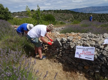 Drystone walling workshop
