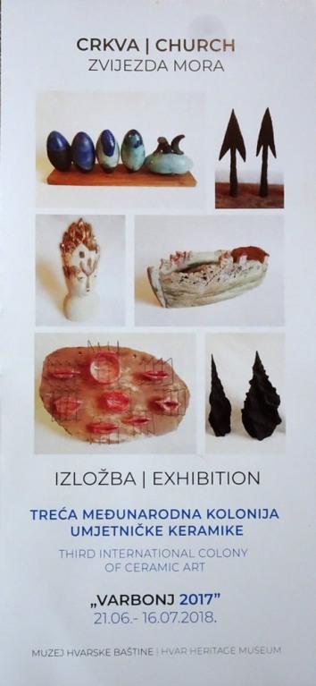 Varbonj 2017 Izložba