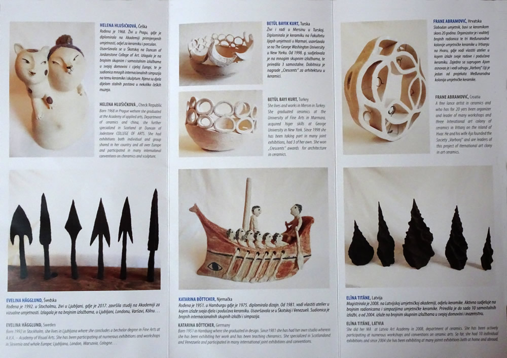 Brochure - artists