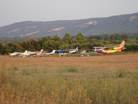 Planes on the ramp