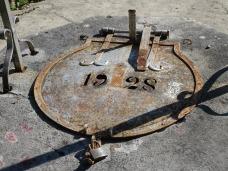 Water cistern lid