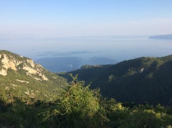 View over Kvarner Bay