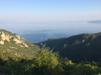 View over Kvarner Bay