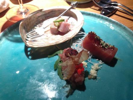 Adriatic tuna 3 ways