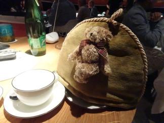 Pot of tea and a teddy
