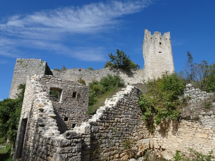 Fortifications and tower