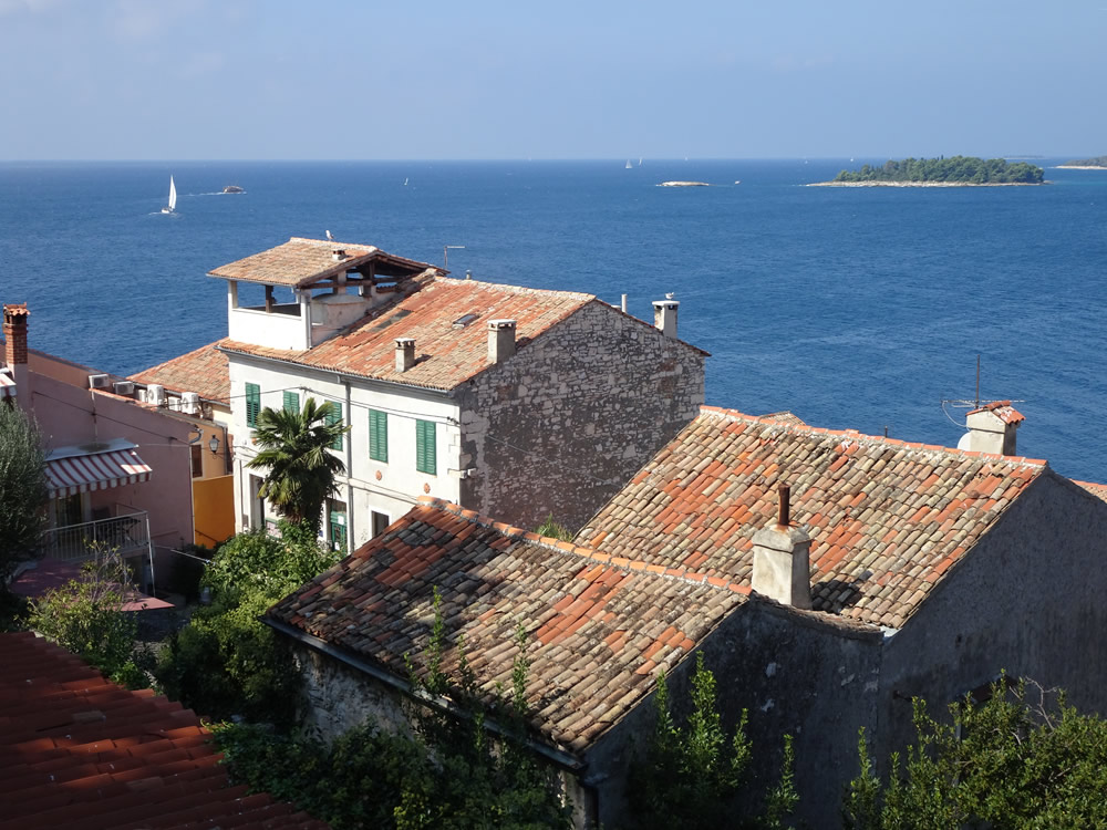 Old Rovinj roofs