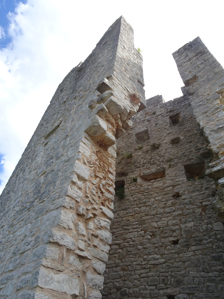 Inside the tower
