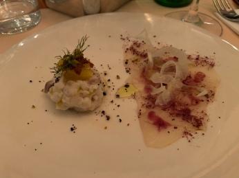 Ceviche and Carpaccio