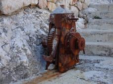 Rusty winch