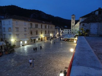 Hvar pjaca at night