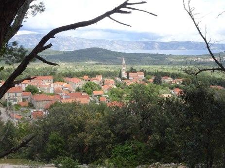 Vrbanj with Vrboska in the distance