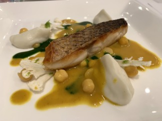 Sea Bass in curry sauce