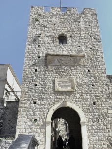 Entry to old town