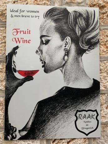 Fruit wine for women - really?