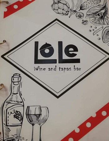 Wine bar and tapas!