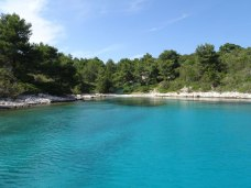 Look at the colour of that water!