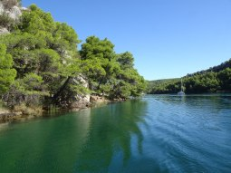 Down the Krka