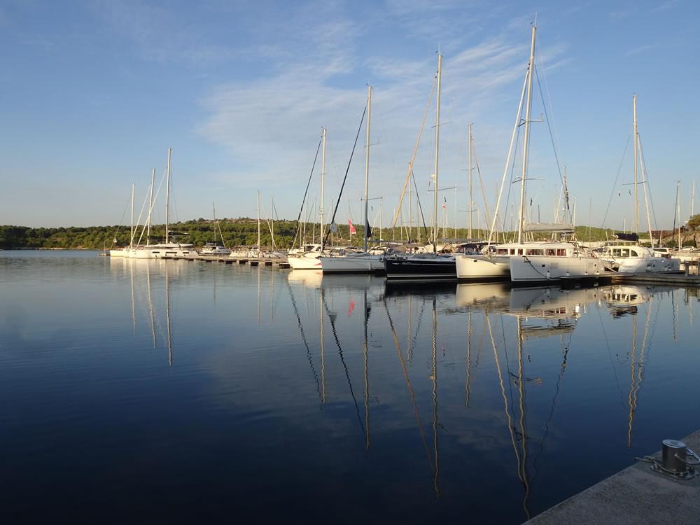 Peaceful marina