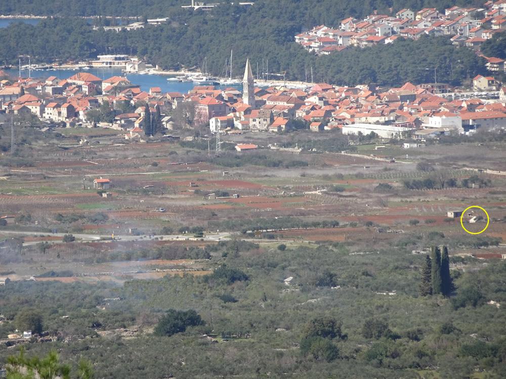 Mokoš view from Perun