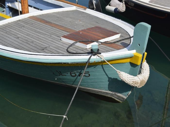 Vrboska boat