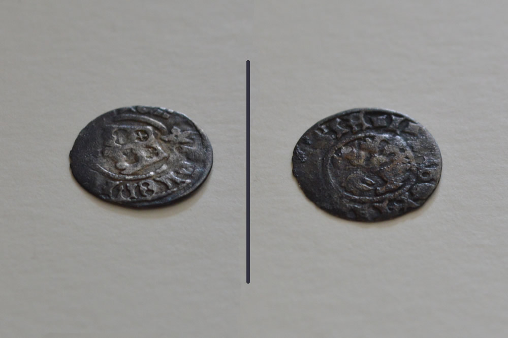 Silver coin from 1441