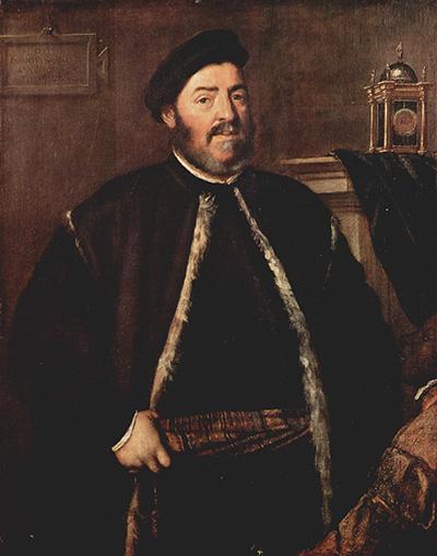 Fabrizio Salvaresio by Titian