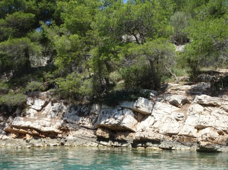 Rocky waterline